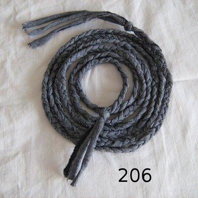 Cintura treccia in maglina