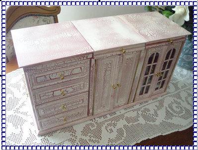 Mobiletto porta trucchi gioielli profumi per la casa e - Porta gioielli fatti in casa ...