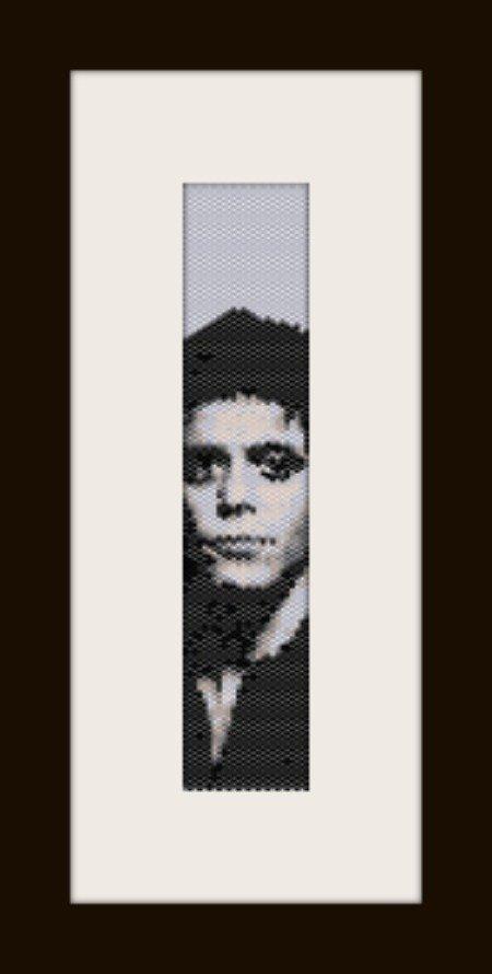 PDF schema bracciale Lou Red in stitch peyote pattern - solo per uso personale