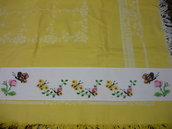 bordura farfalle punto croce