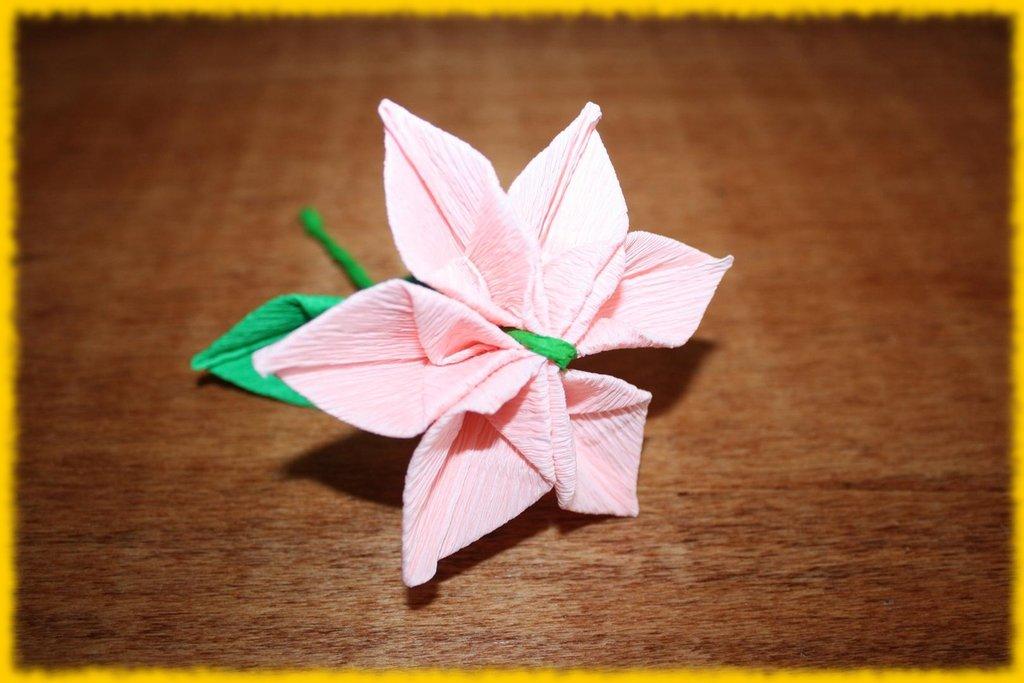Fiore composito rosa