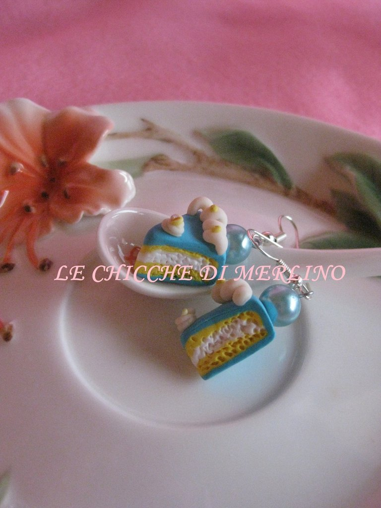 orecchini wedding cake