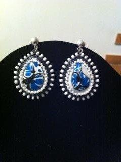 Orecchini Blue Stone