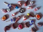 Lotto ciondoli dolcetti handmade