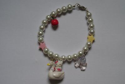 Bracciale Hello Kitty Cigno