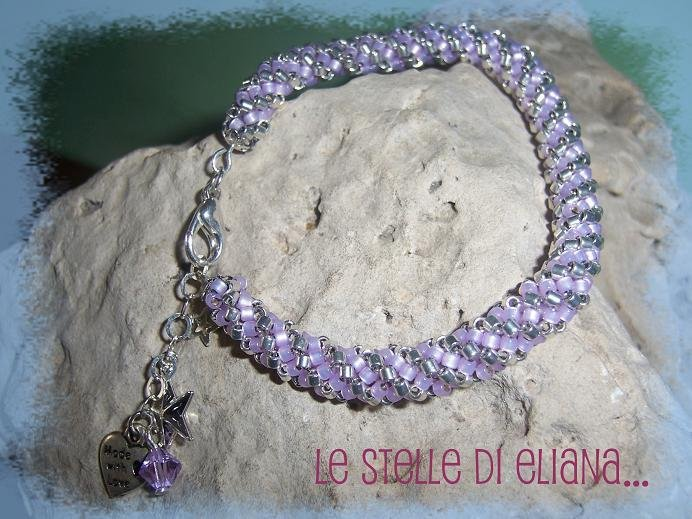 braccialetto Flex con charms