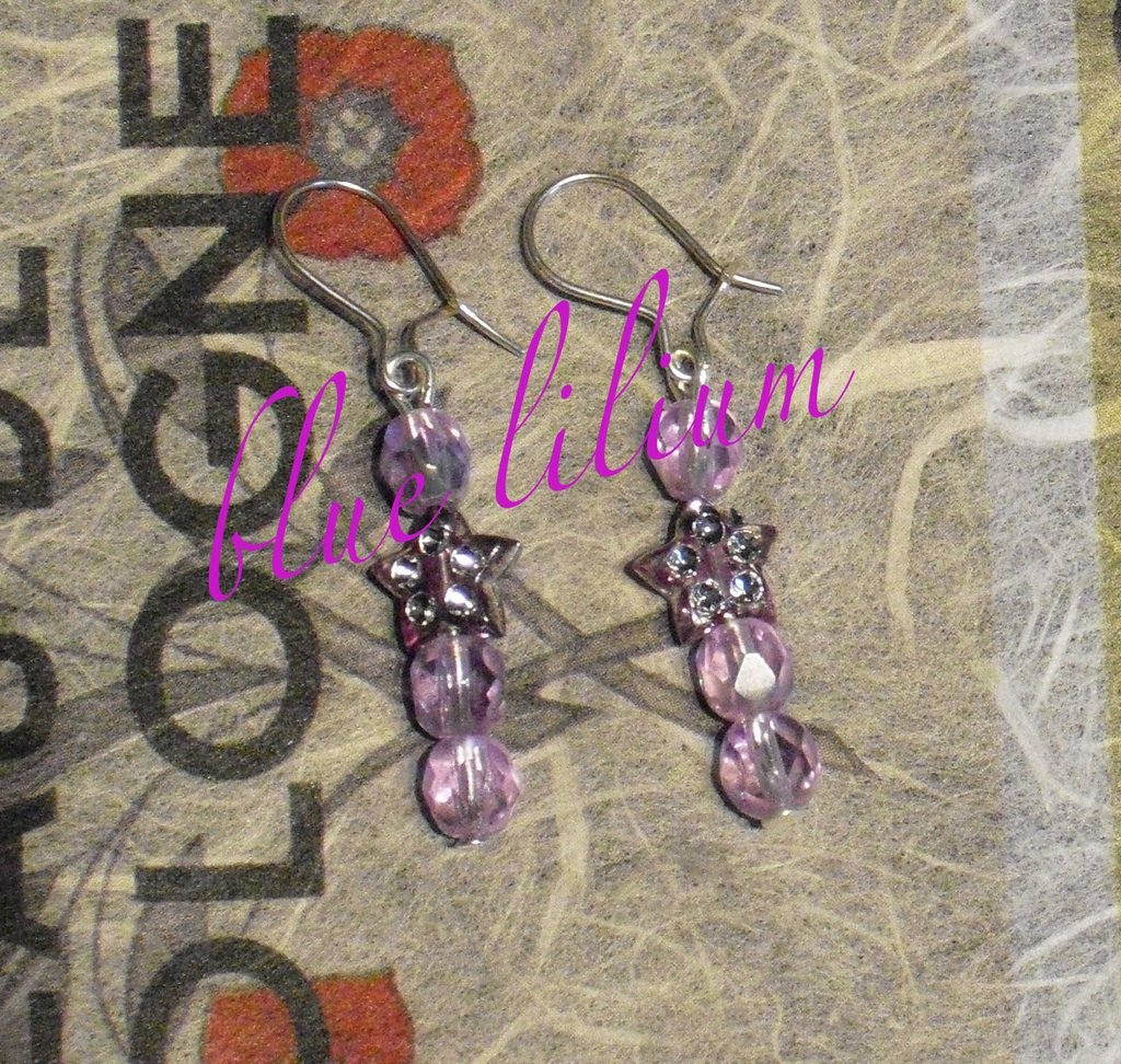 lilla earrings