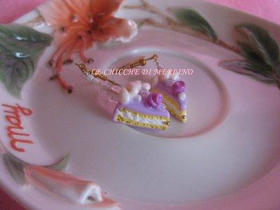 orecchini wedding pink