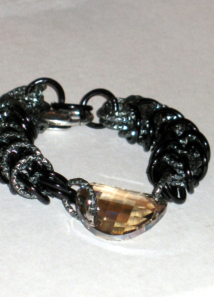 BRACCIALE SWAROVSKY CHAINMAILLE