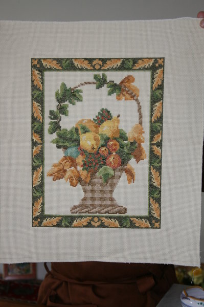 Quadro cesto di frutta