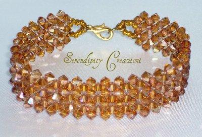 Bracciale Elegance, Cristallo Swarovski Elements, braccialetto