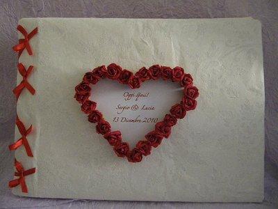 guestbook rose rosse