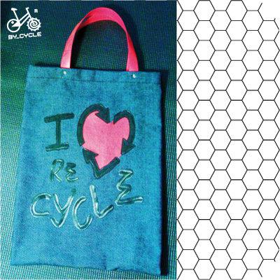 ShoppyngBag..BO0001-I♥Recycler..