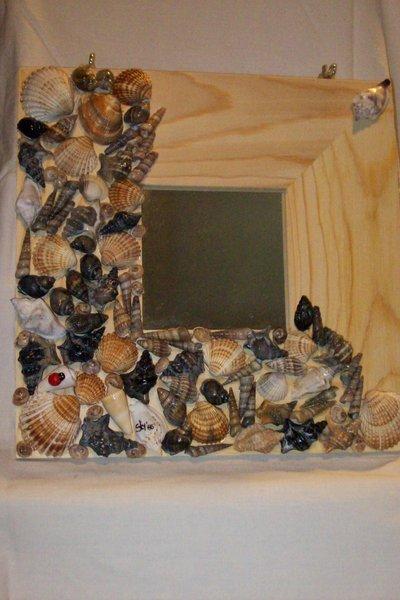 Specchio mille conchiglie per la casa e per te - Specchio con conchiglie ...