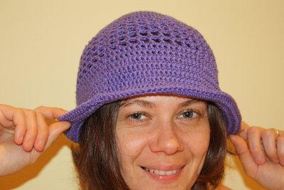 cappello viola