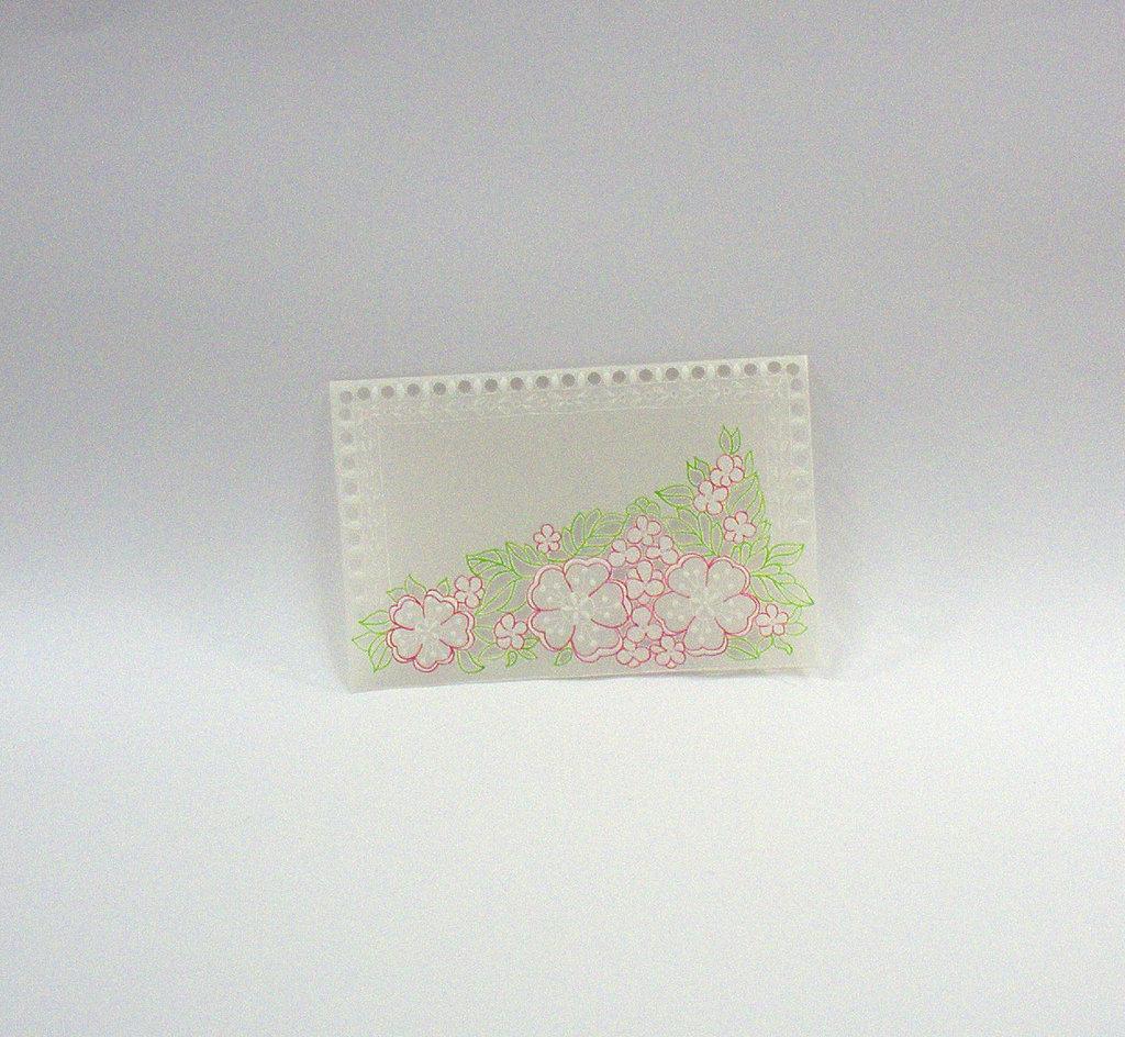 Biglietto Tralcio di fiori