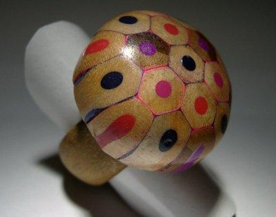 colored mushroom