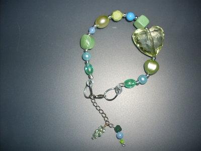 mod.EASYMOON-GREEN  braccialetto