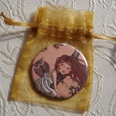 Specchietto-Dreaming-pocket mirror 2.25 inch (5.6cm)