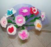mazzo fiori calza