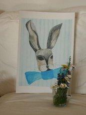 signore coniglio *arte stampo*