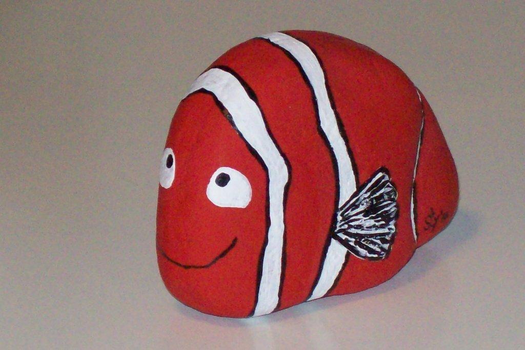 Sasso pesciolino Nemo VENDUTO!