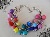 braccialetto rainbow summer