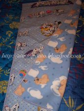 Copertina bimbo Carica dei 101 + borsetta - Cod. 0037CC