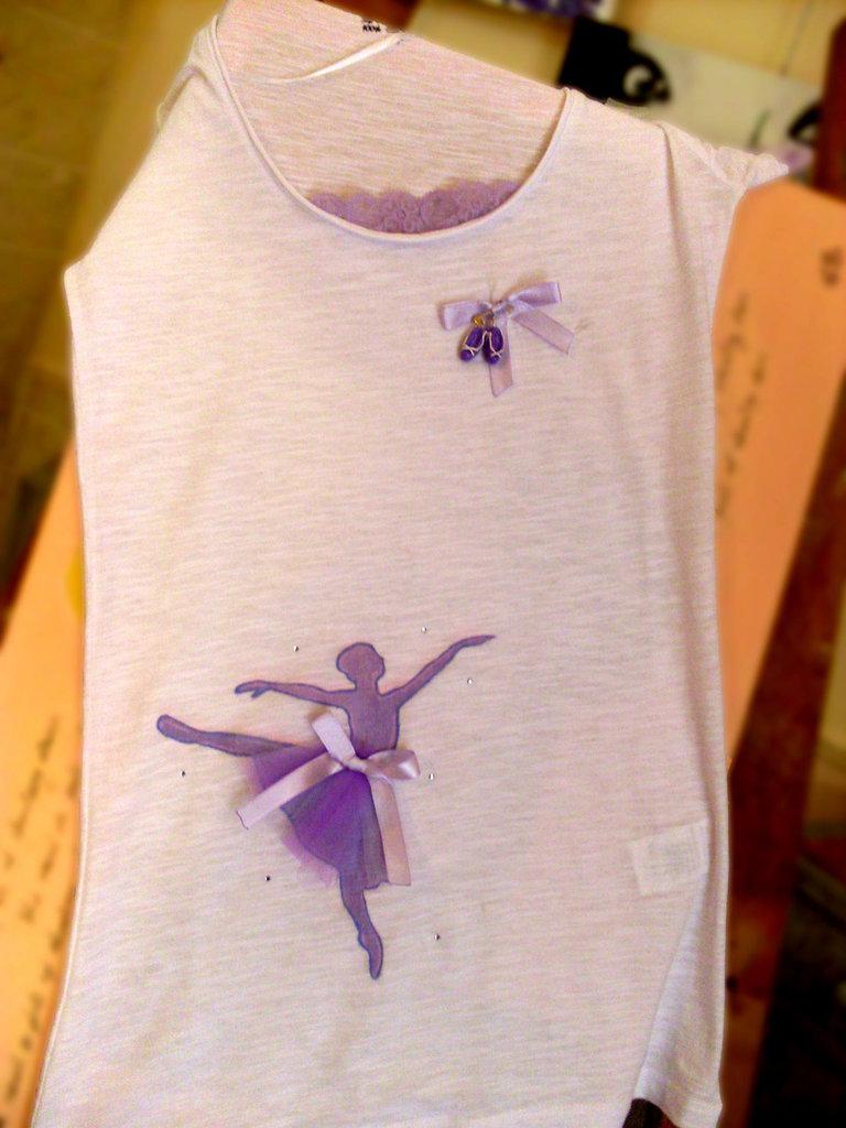 T-shirt Ballerina