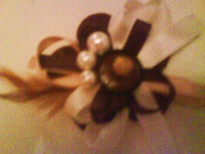 spilla fiore di feltro