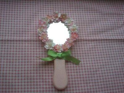 """specchio """"rosa di primavera"""""""