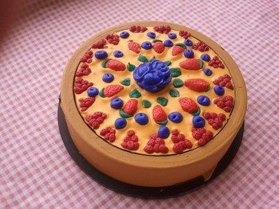 porta cd/dvd torta di frutta