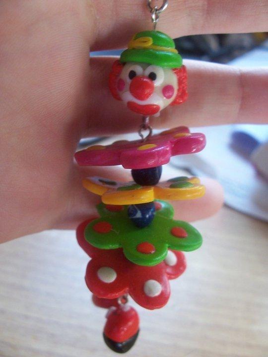 Portachiavi clownino... =)