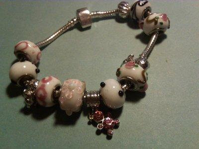 Braccialetti con beads in vetro... =)