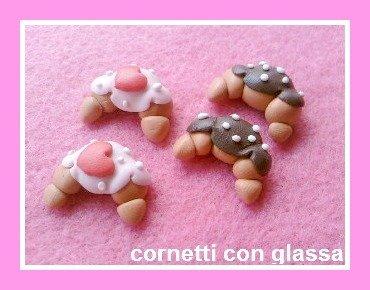 lotto charms ciondoli cornetti