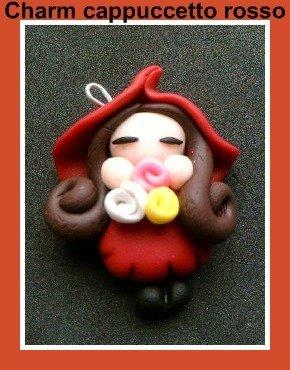 ciondolo charms cappuccetto rosso