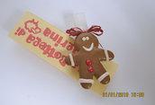 Molletta chiudipacco -Gingerman bread-