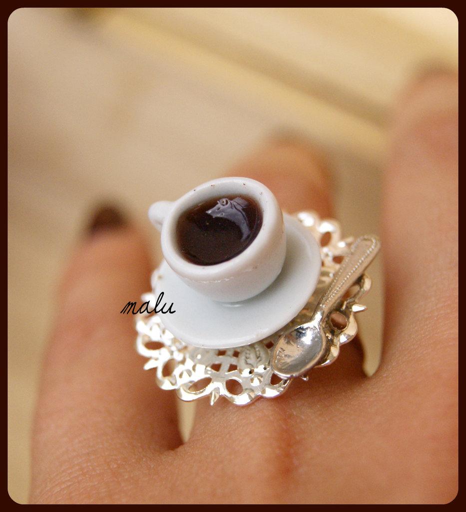 anello Caffè dipendente ♥