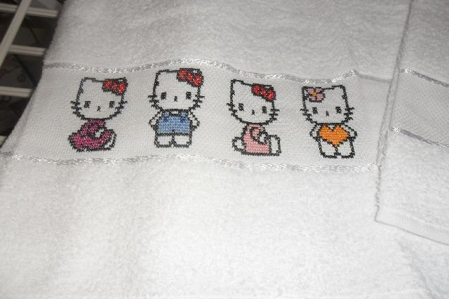 coppia asciugamani - Hello Kitty