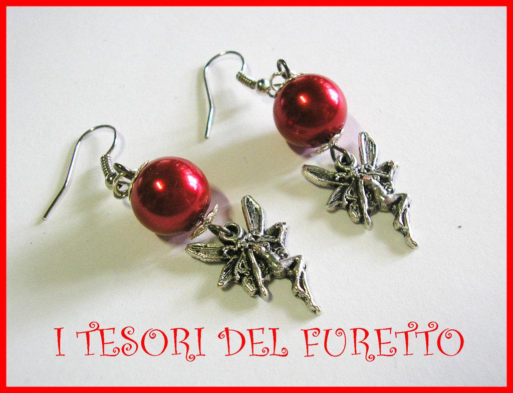 Orecchini Natale Rossi ANgelo Perle Fairy earring Estate 2011