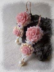 Orecchini Morning Rose
