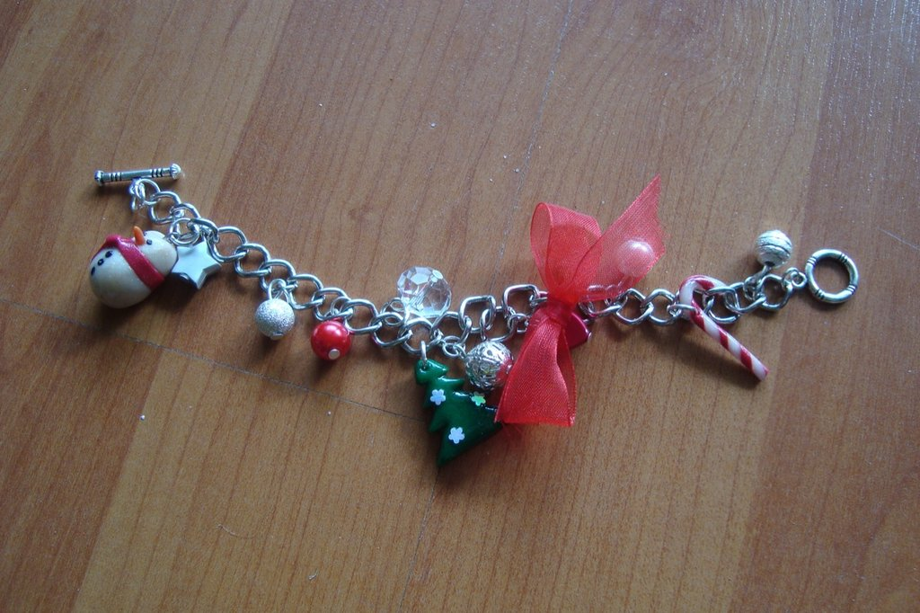 bracciale natalizio