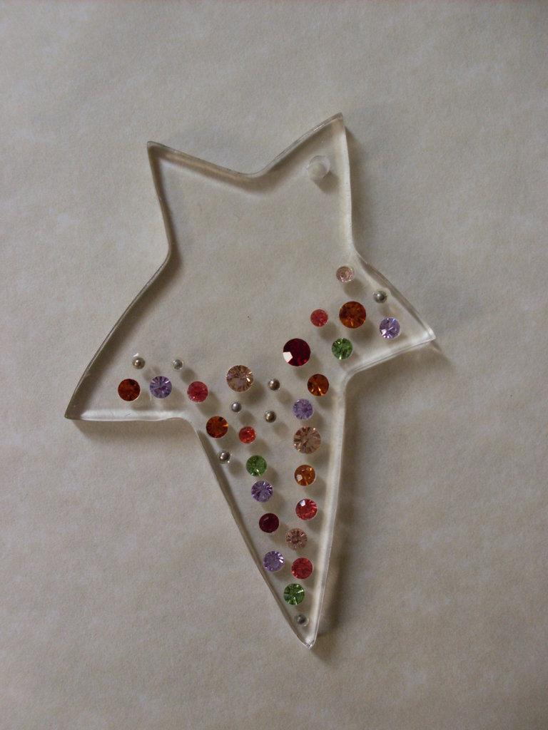 ART.35 - stella plexiglass