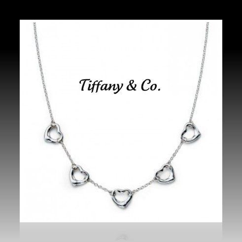 Catenina Tiffany & Co.