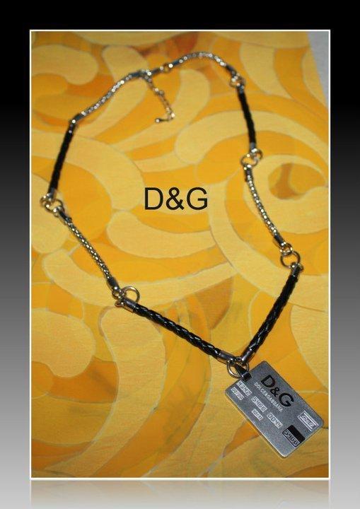 Collana uomo D&G