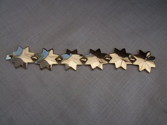 Bracciale metallo color oro Valentino