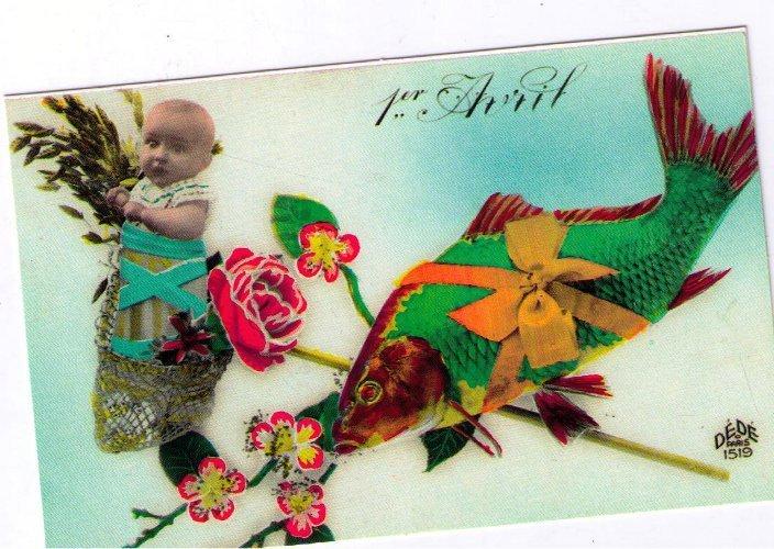 Cartolina augurale - Riproduzione da originale d'epoca