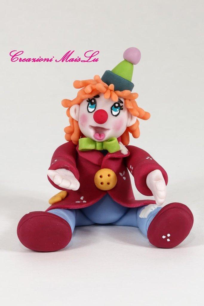Clown MaisLu in pasta di mais