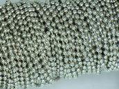 Catena a pallini per bijoux
