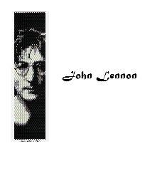 "Griglia peyote ""John Lennon"" /Peyote grid ""John Lennon"""